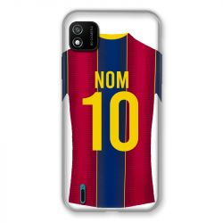 Coque Pour Wiko Y62 Personnalisee Maillot Football FC Barcelone