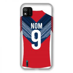 Coque Pour Wiko Y62 Personnalisee Maillot Football LOSC Lille