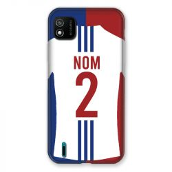 Coque Pour Wiko Y62 Personnalisee Maillot Football Olympique Lyonnais Domicile