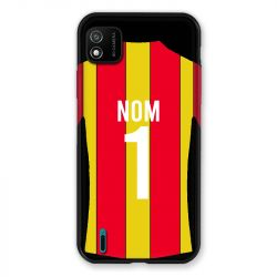 Coque Pour Wiko Y62 Personnalisee Maillot Football RC Lens