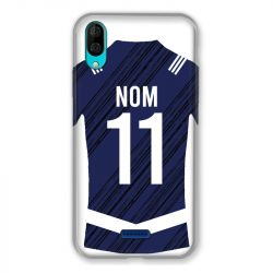 Coque Pour Wiko Y80 Personnalisee Maillot Footbal Girondins Bordeaux