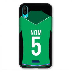 Coque Pour Wiko Y80 Personnalisee Maillot Football AS Saint Etienne