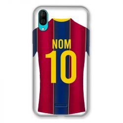 Coque Pour Wiko Y80 Personnalisee Maillot Football FC Barcelone
