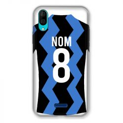 Coque Pour Wiko Y80 Personnalisee Maillot Football FC Inter Milan
