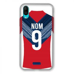 Coque Pour Wiko Y80 Personnalisee Maillot Football LOSC Lille