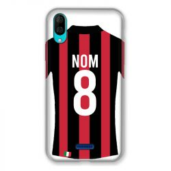 Coque Pour Wiko Y80 Personnalisee Maillot Football Milan AC