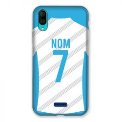 Coque Pour Wiko Y80 Personnalisee Maillot Football Olympique Marseille Domicile