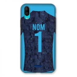 Coque Pour Wiko Y80 Personnalisee Maillot Football Olympique Marseille Exterieur