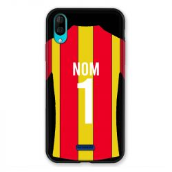 Coque Pour Wiko Y80 Personnalisee Maillot Football RC Lens