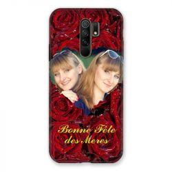 Coque Pour Xiaomi Redmi 9 Personnalisee Fete Des Meres Roses Rouges