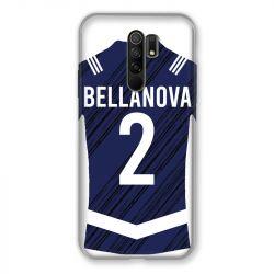 Coque Pour Xiaomi Redmi 9 Personnalisee Maillot Footbal Girondins Bordeaux
