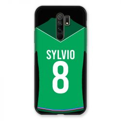 Coque Pour Xiaomi Redmi 9 Personnalisee Maillot Football AS Saint Etienne