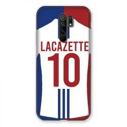 Coque Pour Xiaomi Redmi 9 Personnalisee Maillot Football Olympique Lyonnais Domicile