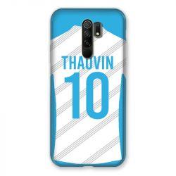 Coque Pour Xiaomi Redmi 9 Personnalisee Maillot Football Olympique Marseille Domicile