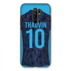 Coque Pour Xiaomi Redmi 9 Personnalisee Maillot Football Olympique Marseille Exterieur