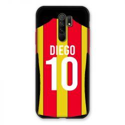 Coque Pour Xiaomi Redmi 9 Personnalisee Maillot Football RC Lens