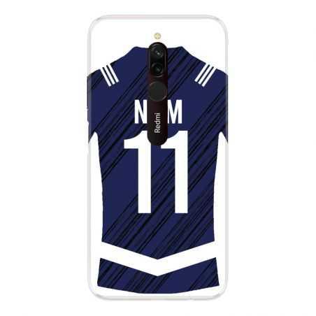 Coque Pour Xiaomi Redmi 8 Personnalisee Maillot Footbal Girondins Bordeaux