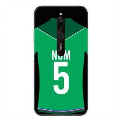 Coque Pour Xiaomi Redmi 8 Personnalisee Maillot Football AS Saint Etienne