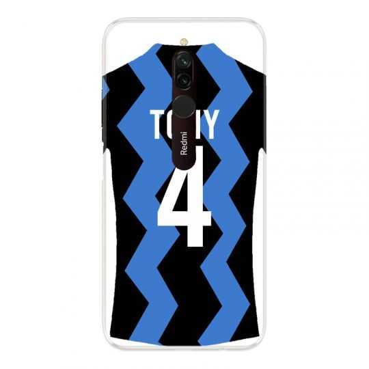 Coque Pour Xiaomi Redmi 8 Personnalisee Maillot Football FC Inter Milan