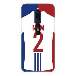 Coque Pour Xiaomi Redmi 8 Personnalisee Maillot Football Olympique Lyonnais Domicile