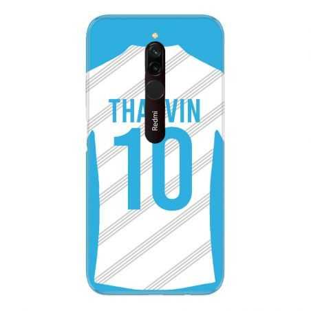 Coque Pour Xiaomi Redmi 8 Personnalisee Maillot Football Olympique Marseille Domicile