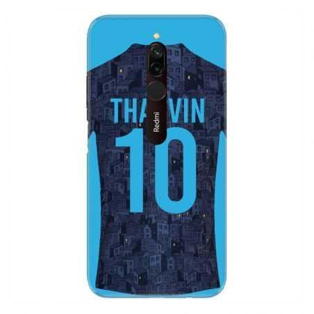 Coque Pour Xiaomi Redmi 8 Personnalisee Maillot Football Olympique Marseille Exterieur