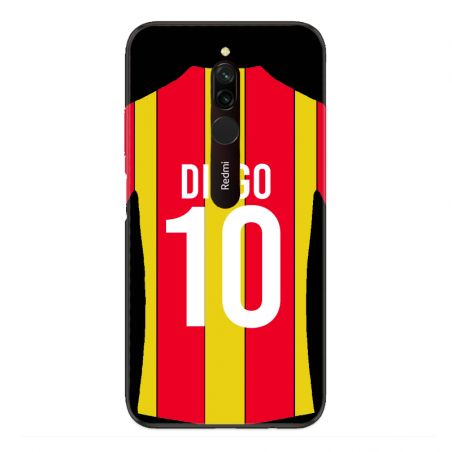 Coque Pour Xiaomi Redmi 8 Personnalisee Maillot Football RC Lens