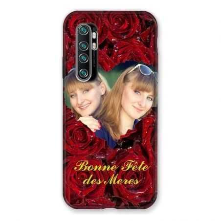 Coque Pour Xiaomi Mi Note 10 Lite Personnalisee Fete Des Meres Roses Rouges