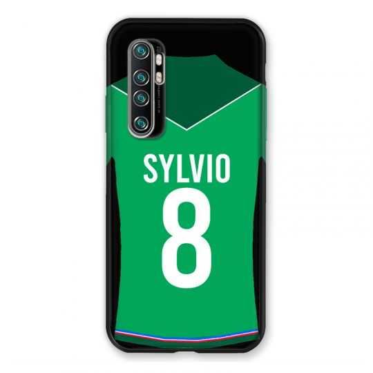 Coque Pour Xiaomi Mi Note 10 Lite Personnalisee Maillot Football AS Saint Etienne