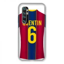 Coque Pour Xiaomi Mi Note 10 Lite Personnalisee Maillot Football FC Barcelone