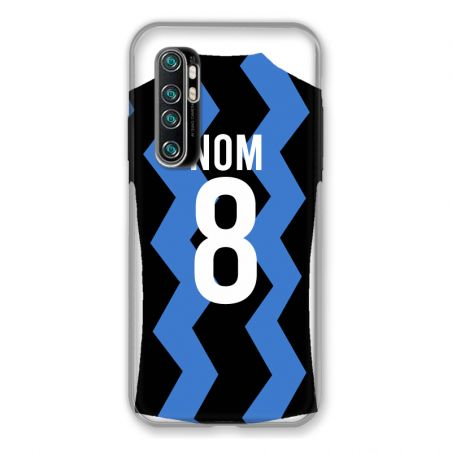 Coque Pour Xiaomi Mi Note 10 Lite Personnalisee Maillot Football FC Inter Milan