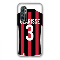 Coque Pour Xiaomi Mi Note 10 Lite Personnalisee Maillot Football Milan AC