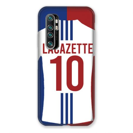 Coque Pour Xiaomi Mi Note 10 Lite Personnalisee Maillot Football Olympique Lyonnais Domicile