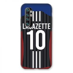 Coque Pour Xiaomi Mi Note 10 Lite Personnalisee Maillot Football Olympique Lyonnais Exterieur