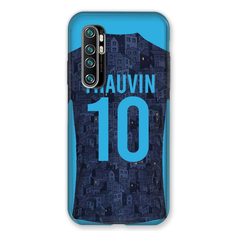 Coque Pour Xiaomi Mi Note 10 Lite Personnalisee Maillot Football Olympique Marseille Exterieur