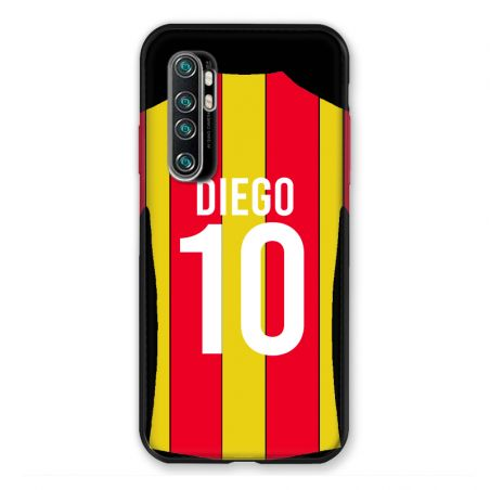 Coque Pour Xiaomi Mi Note 10 Lite Personnalisee Maillot Football RC Lens