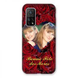 Coque pour Xiaomi Mi 10T / Mi 10T Pro personnalisee Fete Des Meres Roses Rouges