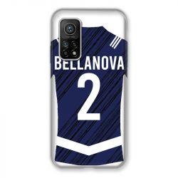 Coque pour Xiaomi Mi 10T / Mi 10T Pro personnalisee Maillot Footbal Girondins Bordeaux