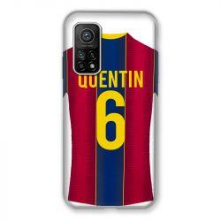 Coque pour Xiaomi Mi 10T / Mi 10T Pro personnalisee Maillot Football FC Barcelone