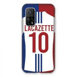 Coque pour Xiaomi Mi 10T / Mi 10T Pro personnalisee Maillot Football Olympique Lyonnais Domicile