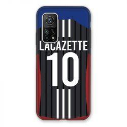 Coque pour Xiaomi Mi 10T / Mi 10T Pro personnalisee Maillot Football Olympique Lyonnais Exterieur