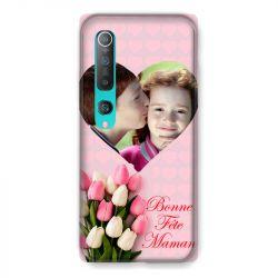 Coque Pour Xiaomi Mi 10 Pro Personnalisee Fete Des Meres Coeurs Roses