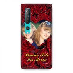 Coque Pour Xiaomi Mi 10 Pro Personnalisee Fete Des Meres Roses Rouges