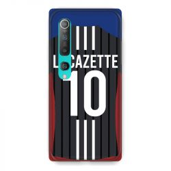 Coque Pour Xiaomi Mi 10 Pro Personnalisee Maillot Football Olympique Lyonnais Exterieur