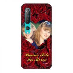 Coque Pour Xiaomi Mi 10 Personnalisee Fete Des Meres Roses Rouges