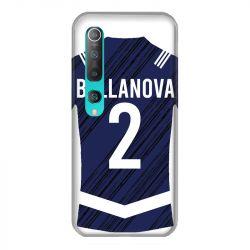 Coque Pour Xiaomi Mi 10 Personnalisee Maillot Footbal Girondins Bordeaux