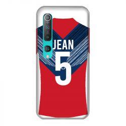 Coque Pour Xiaomi Mi 10 Personnalisee Maillot Football LOSC Lille