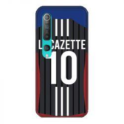 Coque Pour Xiaomi Mi 10 Personnalisee Maillot Football Olympique Lyonnais Exterieur