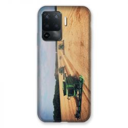 Coque Pour Oppo A94 5G Agriculture Moissonneuse