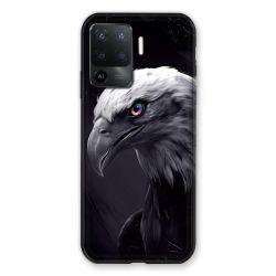 Coque Pour Oppo A94 5G Aigle Royal Noir